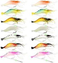 3pcs Soft Plastic Fishing Lures Tackle Prawn Shrimp Cod Fla Bass Bream X4D2