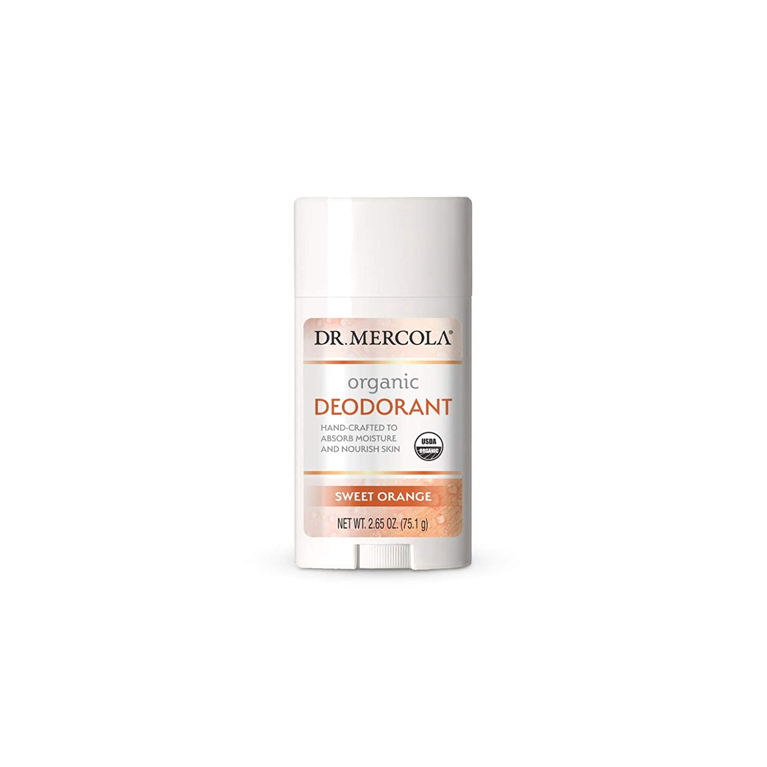 Dr. Mercola Organic Finally Outlet sale feature popular brand Deodorant Sweet Orange GMO oz Soy non 2.5