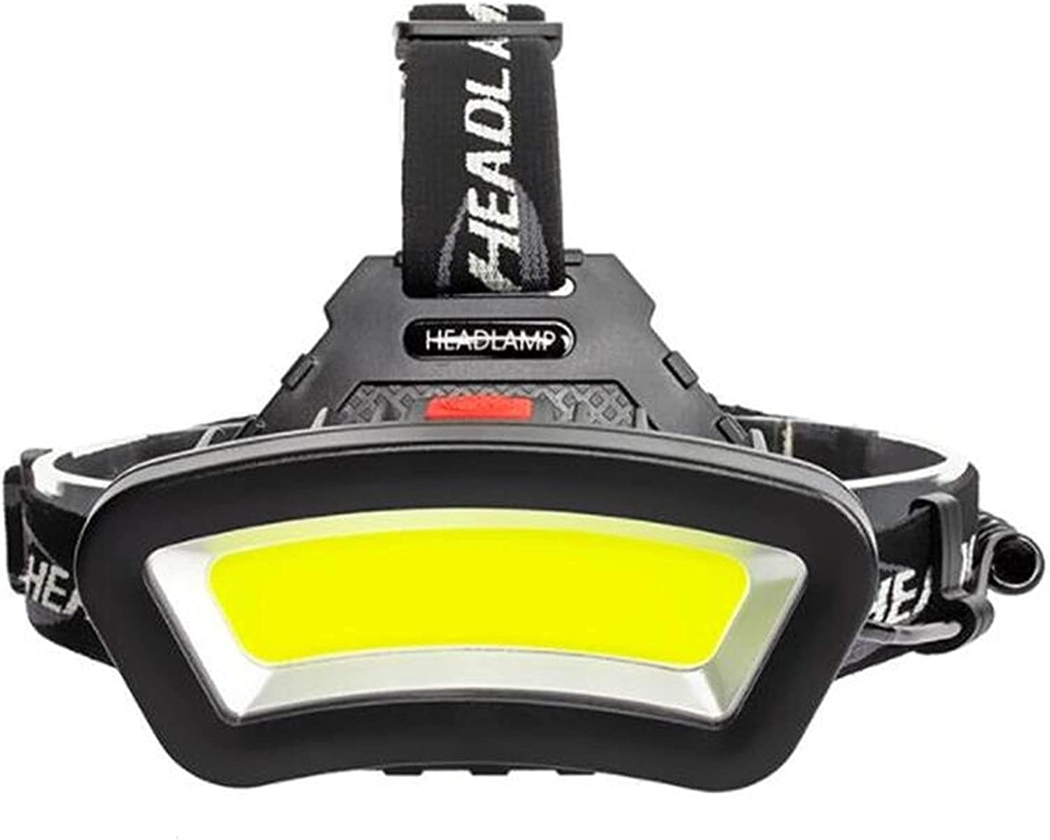 JSJJWSX headlamp USB A surprise price is realized Rechargeable Headlamp F Max 47% OFF LED White Light Red