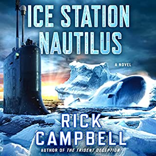 Ice Station Nautilus audiobook cover art