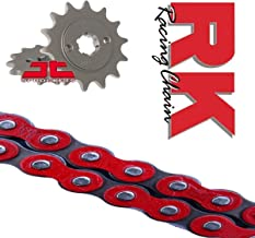 RK Racing Red Chain and Sprocket Kit For YZF-R125