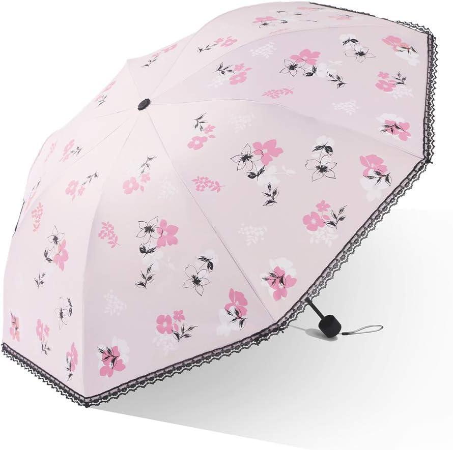 Umbrella Black Plastic Sunscreen Max 77% OFF Anti-Ultraviolet Lace Popular overseas E Folding