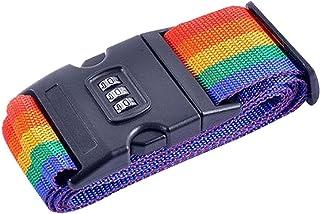 EZ Life Multicolor Luggage Strap