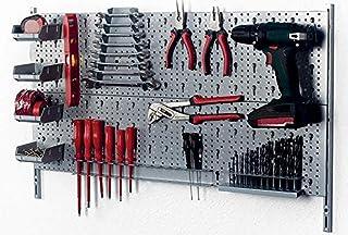 Element System 66847 - Kit de garaje, 800 x 200 mm, color gris
