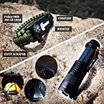 EVERLIT 250 Pieces Survival First Aid Kit IFAK Molle System Compatible Outdoor Gear Emergency Kits Trauma Bag for… 13 ✅【Exclusive 250 PCS First Aid Survival Kit Contained a Military Molle EMT Pouch】Uniquely customized by U.S military veterans, field tested by EX- Army Sergent, designed to get you well-prepared in an emergency situation. The kit combines 241 PCS First Aid Supply with 9 powerful Survival Gear into a Must-Have EDC emergency kit. ✅【Comprehensive First Aid Treatment Exceeds OSHA Guidelines For Single Family】The kit contains more than enough supply to treat a single family or a group of friends under emergency circumstances. Perfect for taking care of any medical or emergency needs during outdoor wilderness adventures such as camping, boy scouts, hiking, hunting and mountain biking, etc. ✅【Molle Compatible, Durable, Portable, and Water-Resistant】The military grade EMT bag was made from 1000D water-resistant nylon, it offers three large compartments and plenty of rooms to add your own gear. The overall dimension of the kit is 8'' x 6.5'' x 5'' and weight only 1.9 lbs. The molle compatible straps on the back allow the user to attach it to other bags or your belt, which made it a perfect companion for any outdoor activities.