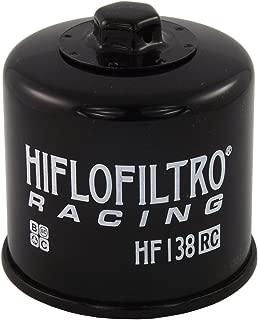 Hiflo Premium Oil Filter Black Race Filter - Fits: Aprilia RSV4 1000 2009-2016