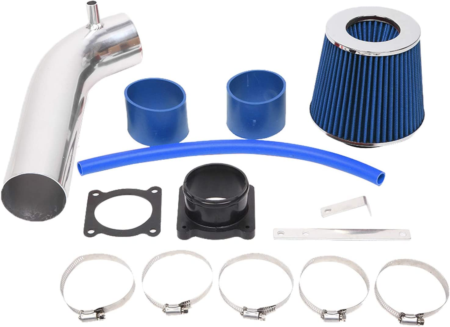 3 inch Intake Pipe Cold Air Intake with Filter Fit for 2003 2004 ...