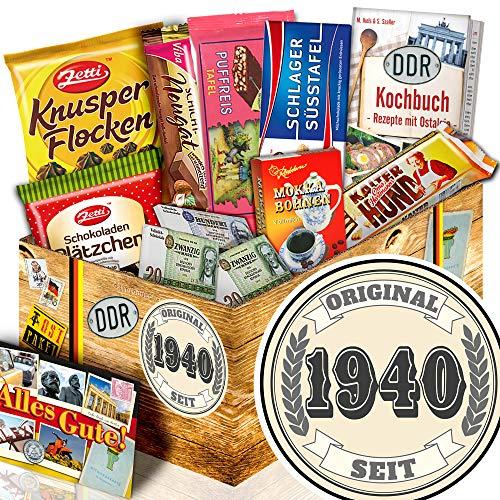 Original seit 1939 / 80 Geburtstag Geschenkeset / Schokoladen Ossi Paket