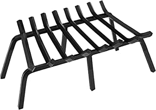 Minuteman International Tapered Iron Fireplace Grate, 28-in x 17-in