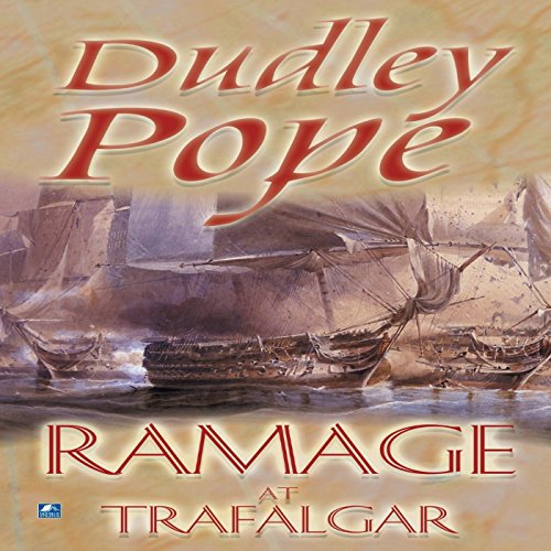 Ramage at Trafalgar audiobook cover art