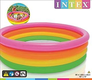 Intex 56441NP Piscina infantil 4-Anillo Piscina Puesta de