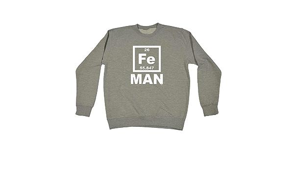 Iron Man Fe HOODIE Science birthday hoody Geek Joke Fashion Funny birthday