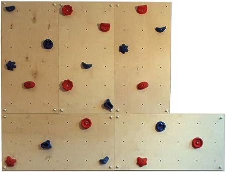 Gartenpirat Pared Escalada Exteriores 3,60 m² - Set OW5- 5 ...