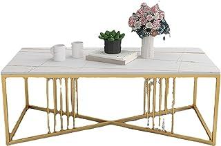 CJDM Table Basse, Table à thé Simple dans Un Petit Salon, Table à thé créative à côté d'un canapé rectangulaire