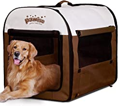 PAWISE Folding Soft Dog Crate Pet Kennel Houses Pens Indoor & Outdoor