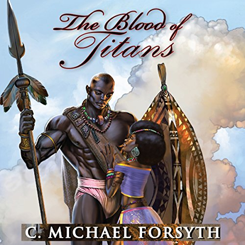 The Blood of Titans audiobook cover art