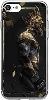 iPhone 6 Plus/6S Plus Case Irish Kickboxer Gold King Protective TPU Soft Silicone Ultra Thin Cover (04)