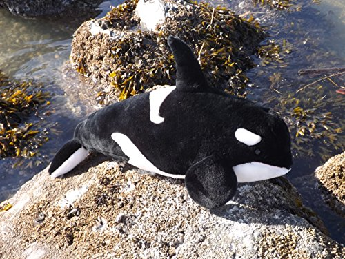 This Place is a Zoo 24' Killer Whale Stuffed Toy Animal - Big Plush Orca from