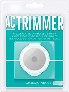 American Crafts 1-Pack Cutup Rotary Paper Trimmer Replacement Blade Straight for AC90700