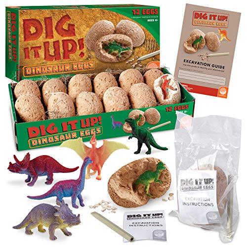 MindWare Dig It Up! Dinosaur eggs excavation kit