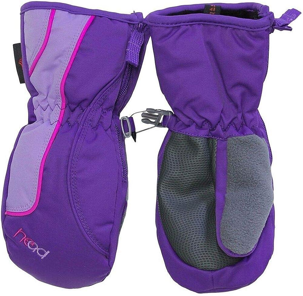 Head Jr. Ski Mitten Sweet Violet/Pink XS