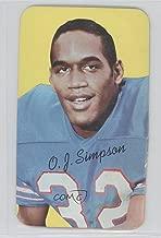 O.J. Simpson (Football Card) 1970 Topps Super - [Base] #24