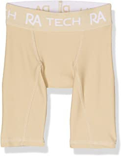 Russell Athletic Boys Boys Compression Short, Beige
