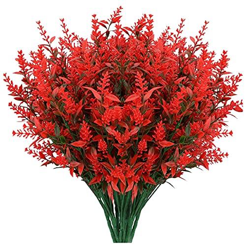 Künstliche Blumen, 8 Bündel...