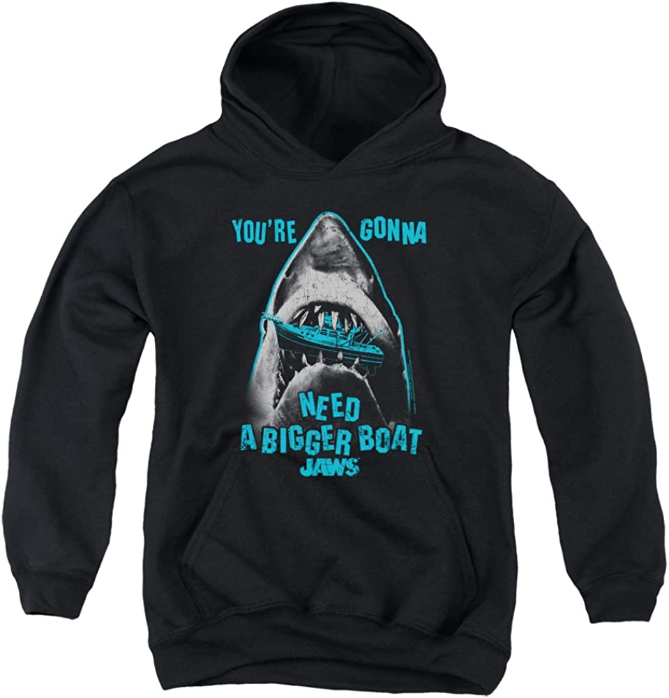 Jaws Boat in Mouth Max 50% OFF Unisex Youth Choice Gi Hoodie and Boys Pull-Over for