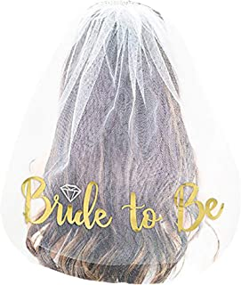 Naughty Bachelorette Party Supplies Decoration Bachelorette Party Veil Bridal Shower Veil Bride to Be Accessories Gift Bachelorette Engagement Decoration