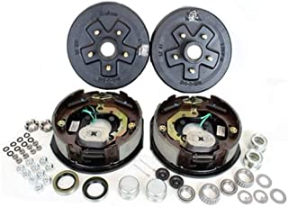 Southwest Wheel 3,500 lbs. Trailer Axle Electric Brake Kit 5-4.5 Bolt Circle