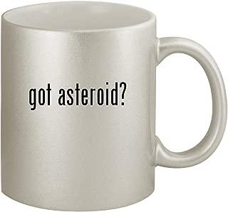 got asteroid? - Ceramic 11oz Silver Coffee Mug, Silver