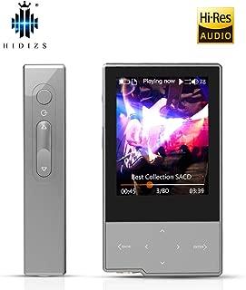 HIDIZS AP60ブルートゥースMP3プレーヤー、高解像度音楽プレーヤーのロスレスデジタルオーディオプレーヤー(第2世代) ピンク