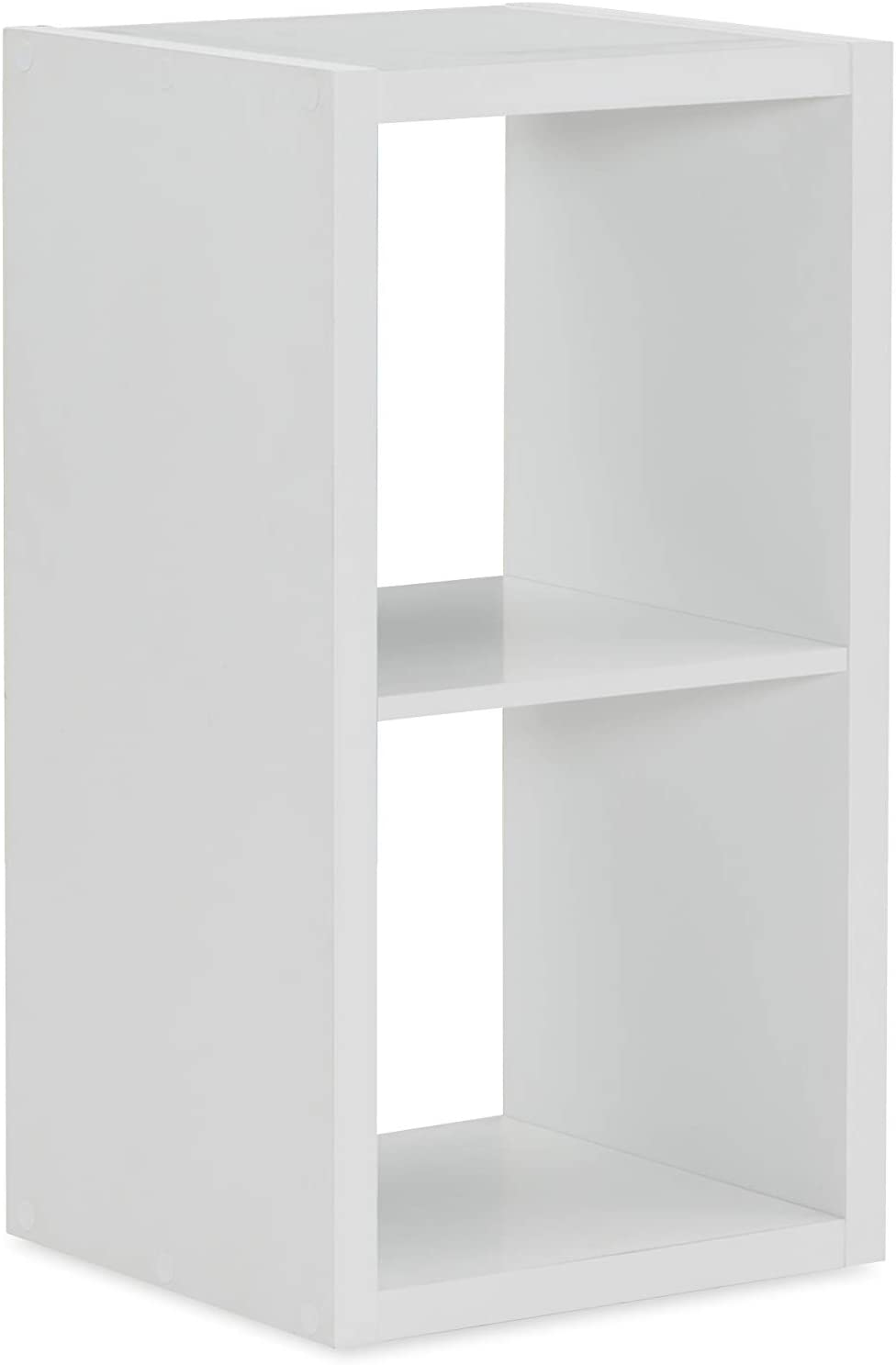 Linon Home Max 77% OFF Decor Dawes 2 Cabinet White Cubby free shipping Storage