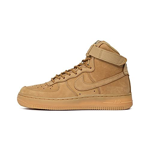 newest 3fe16 7c9b6 NIKE Air Force 1 High Lv8 (Gs)  Flax  - 807617-200