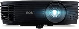 Acer X1323WHP DLP Beamer (WXGA (1.280 x 800 Pixel) 4.000 Lumen 20.000:1 Kontrast, 3D, Keystone, 1x 3 Watt Lautsprecher, HDMI (HDCP), Audio Anschluss) Home Cinema / Business