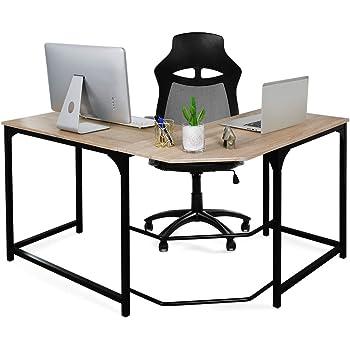 Aingoo L Mesa Escritorio de Computadora, Mesa Ordenador Gran ...