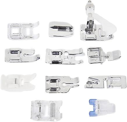 Un Set con 11 Piezas Prensatelas Accesorios para Máquina de coser