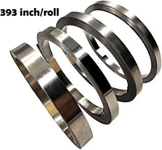Pure Nickel Strip- 99.6% Nickel Strips for 18650 Soldering Tab for High Capacity Lithium, Li-Po Battery, NiMh and NiCd Battery Pack and Spot Welding 393inch/roll
