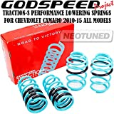 camaro lowering - Godspeed(LS-TS-CT-0013) Traction-S Performance Lowering Springs For CHEVROLET CAMARO 2010-2015 ALL MODELS gsp set kit
