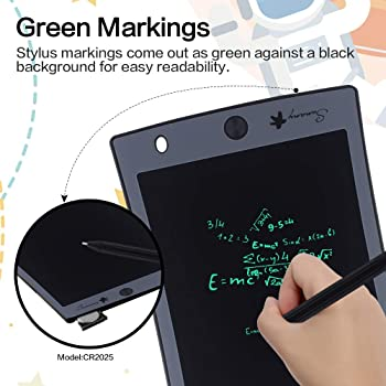 Tinffy 8.5 in LCD Tablet Writing Board Childrens Drawing Board Graffiti Board Graphics Tablets