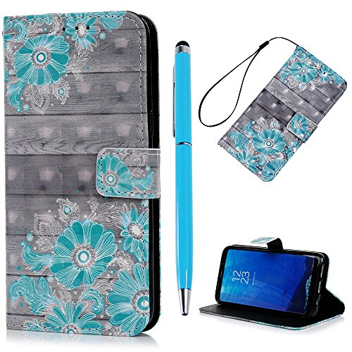 S8 Plus Lederhülle YOKIRIN Wallet Case für Samsung Galaxy S8 Plus 6.2