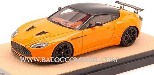 promociones emocionantes TECNOMODEL TMDMI52AL ASTON MARTIN MARTIN MARTIN V12 ZAGATO 2012 naranja negro ROOF 1 43 MODEL  te hará satisfecho