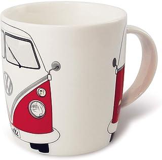 Brisa VW Collection VW T1 Bus Taza Grande de Café 370ml - Rojo