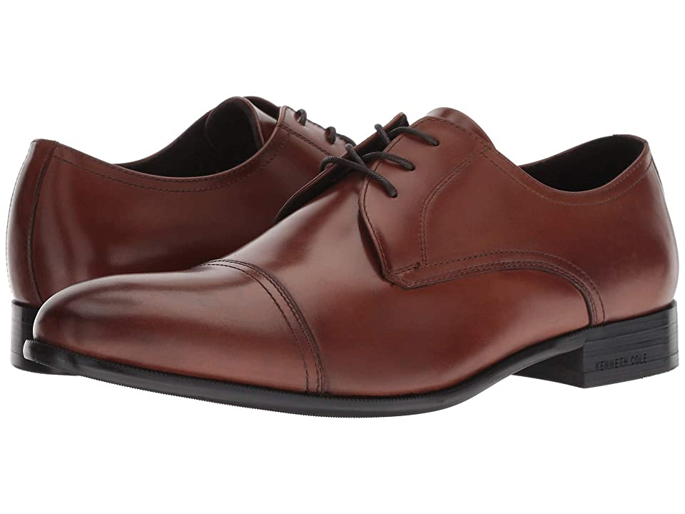 Kenneth Cole New York Capital Lace-Up (Brandy) Men