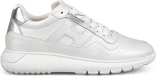 HOGAN Luxury Fashion Womens HXW3710AP20LLG0XTR Silver Sneakers | Season Permanent