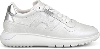 HOGAN Luxury Fashion Womens HXW3710AP20LLG0XTR Silver Sneakers   Season Permanent