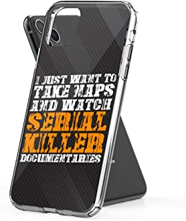 Case Phone Take Naps and Watch Serial Killer Documentaries (6.1-inch Diagonal Compatible with iPhone 11)