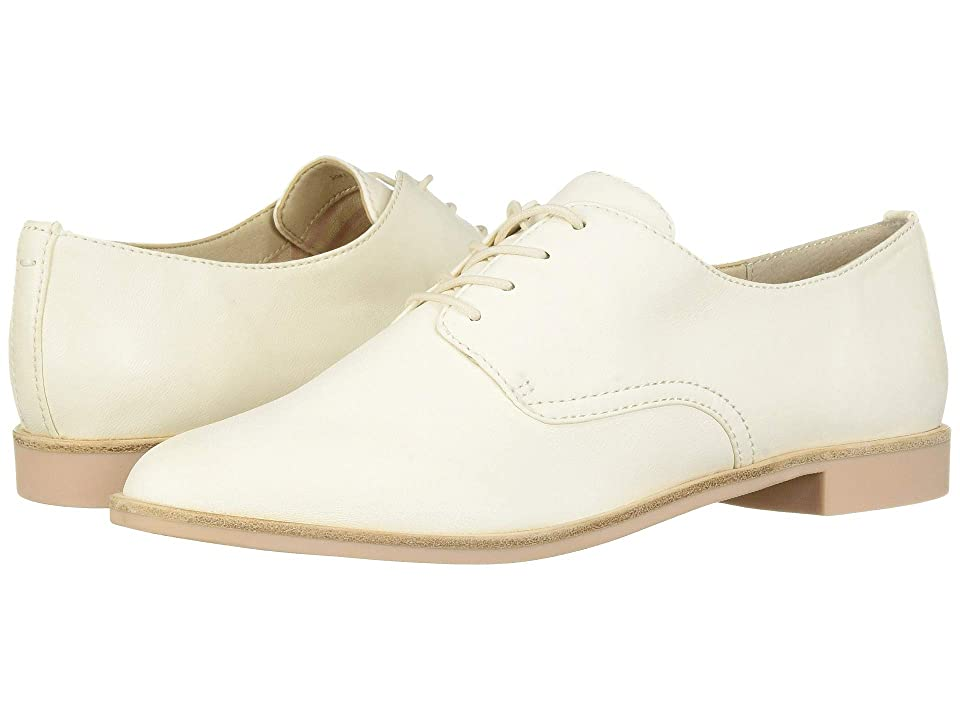 1930s Style Shoes – Art Deco Shoes Dolce Vita Kyle Off-White Leather Womens Boots $99.95 AT vintagedancer.com