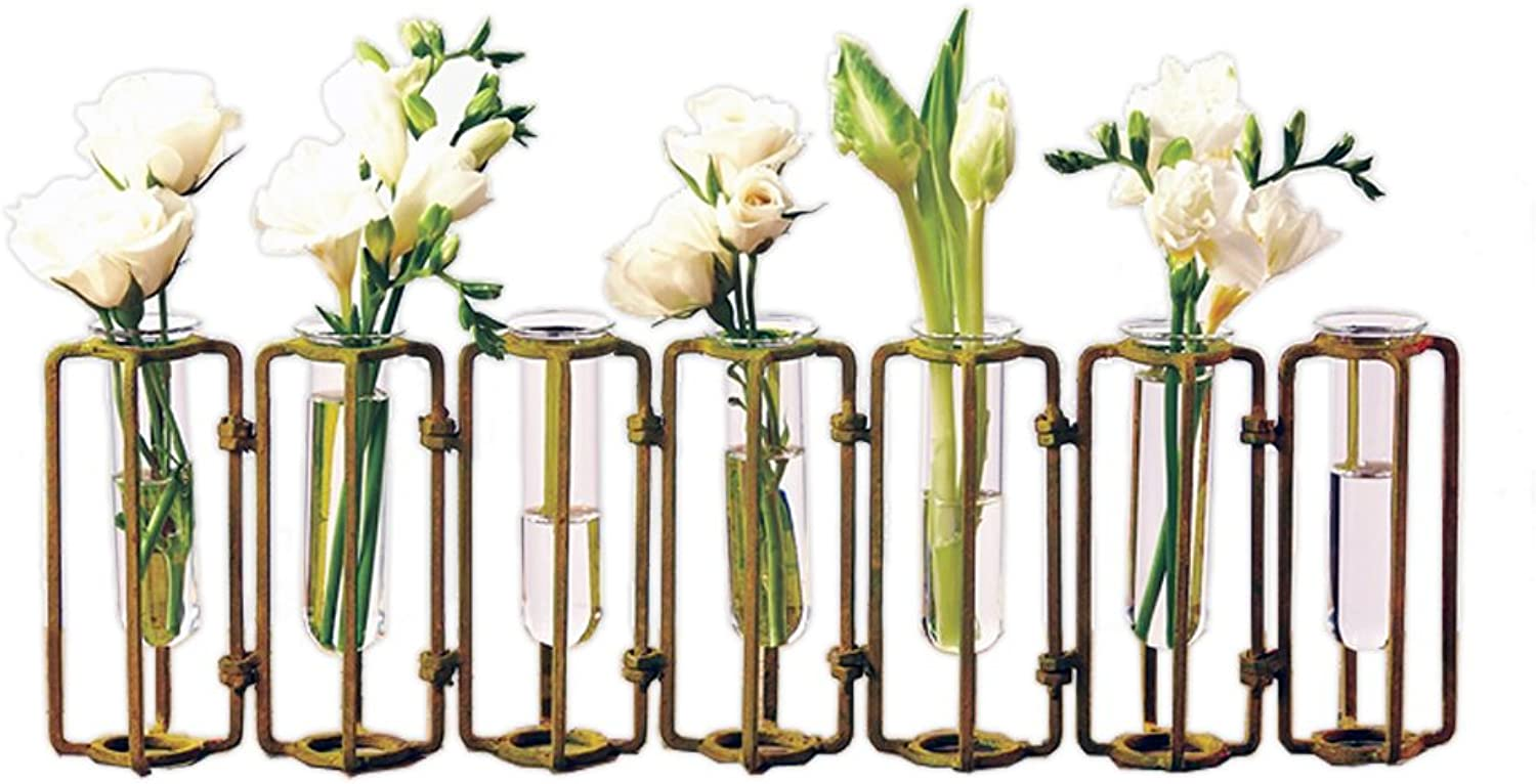 Two's Company Hinged Flower Vases